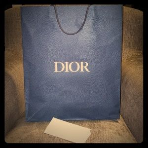 Dior collectible shopping bag
